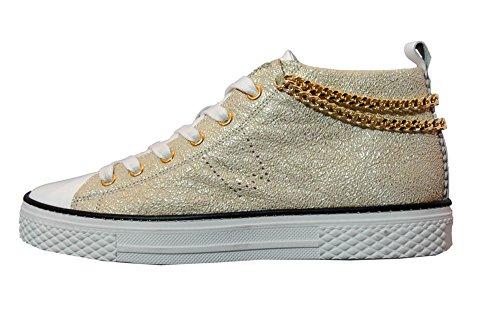 Stau Con Sneakers Pelle 800 M Accessorio Platino r7HqCr