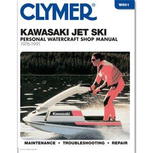 CLYMER KAWASAKI JET SKI 1976-1991 ''Prod. Type: Boat Outfitting'' by OEM