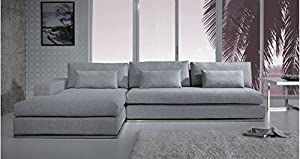 Light Grey Fabric Sectional Sofa : light gray sectional - Sectionals, Sofas & Couches