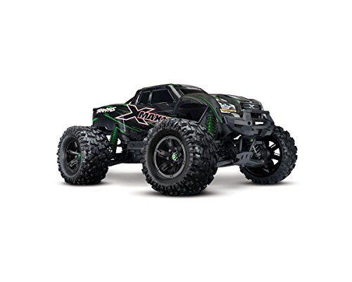 Traxxas 77076-4 X-Maxx: Brushless RTR Electric Monster Truck with TQi 2.4GHz Radio System & Stability, Colors May Vary