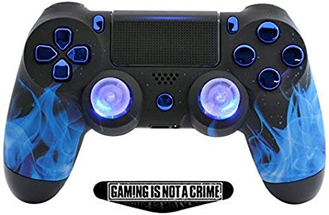Amazon.com: Blue Fire PS4 Pro Rapid Fire Custom modded ...