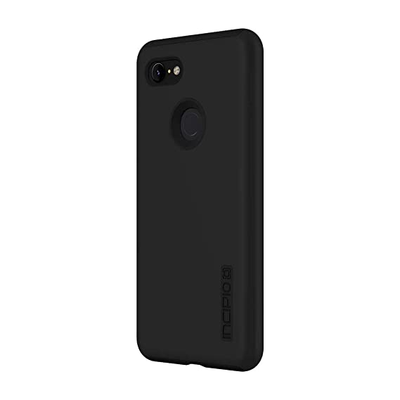super popular 8348d 733df Incipio DualPro Google Pixel 3 XL Case with Shock-Absorbing Inner Core &  Protective Outer Shell for Google Pixel 3 XL - Black