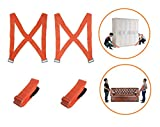 Lifting Moving Straps,Carry Furniture, Appliances, Mattresses, or Any Heavy Object, 2 Person Moving