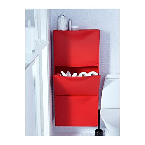 Ikea Trones Shoe Cabinet Storage Red 3 Pack 51x39 Cm Amazon Co