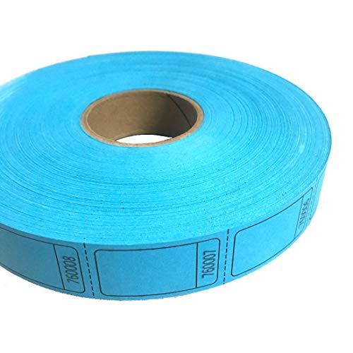 MUNCIE NOVELTY COMPANY Blue Blank Ticket Roll