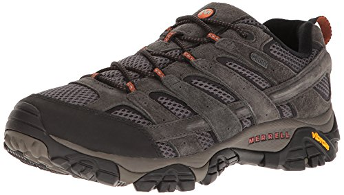 Merrell Men's Moab 2 Waterproof Hiking Shoe, Beluga, 13 M US
