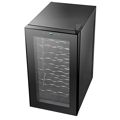 lunanice 18 Bottles Wine Cooler Refrigerator Air-tight Seal Quiet Temperature Control by lunanice (Image #8)