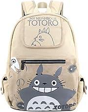 Roffatide Anime My Neighbor Totoro Laptop Rugzakken Bedrukte Schooltas Canvas Rugzak Synthetisch Lederen Rugzak