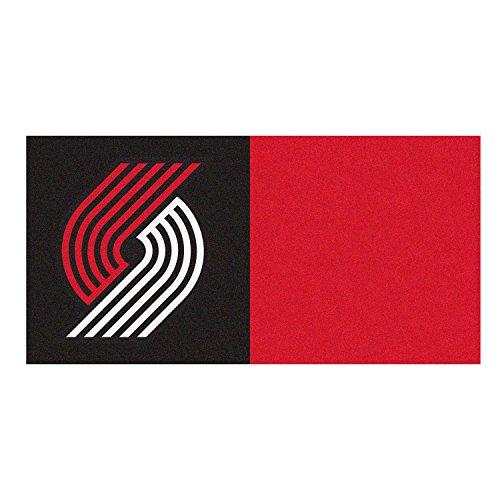 Blazers Team Logo: Portland Trail Blazers Bath Rugs