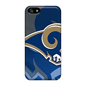 Excellent Hard Cell-phone Cases For iphone 4s With Unique Design Vivid St. Louis Rams Skin SherriFakhry