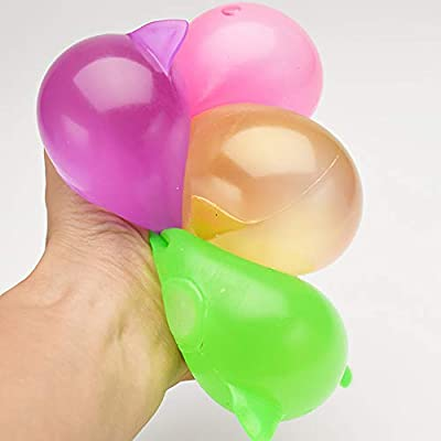 GLOA 5 Pack Pig Splat Toy, Bouncy Balls, Decompression Splat Ball, Anti Stress Balls for Kids Golden: Toys & Games