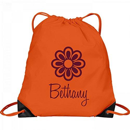 Flower Child Bethany: Port & Company Drawstring Bag by FUNNYSHIRTS.ORG