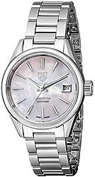 TAG Heuer Women's WAR2411.BA0770 Carrera Analog Display Swiss Automatic Silver Watch