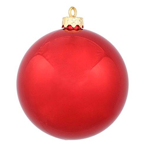 Red Shiny Ball (Vickerman 34833 - 3