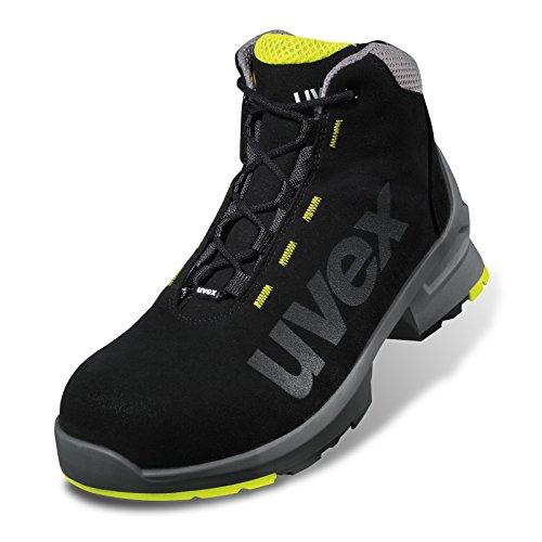 Uvex - Stivali di sicurezza One S2 SRC EN ISO 20345, Nero (nero), 39 Nero (nero)