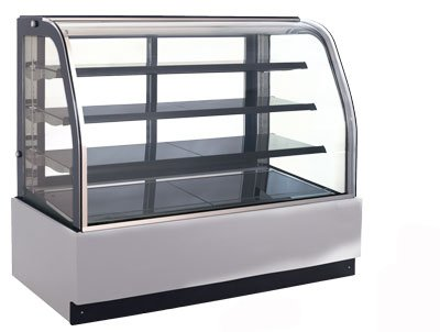 OMCAN 27942 RS-CN-0349 Refrigerated Cold Bakery Pastry Display (Refrigerated Bakery Display Case)