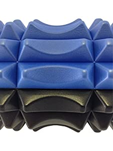 Cell Integrate Foam Roller with Massage Acupressure Exercise Core Therapy Roll Tool with Bi-directional Zone for Spine Comfort by NewCell