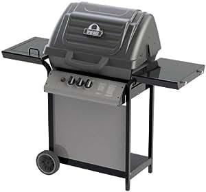 Broil-Mate 155364 40,000 BTU Liquid Propane Gas Grill with 10,000 BTU Side Burner