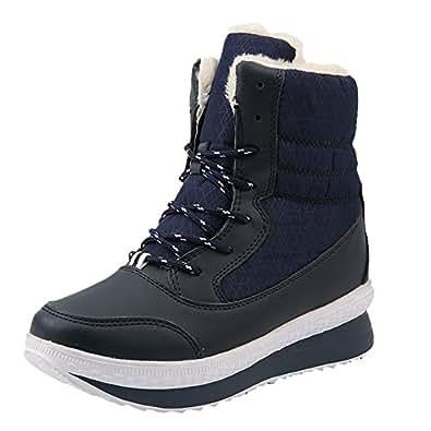 Amazon.com | LandFox Women Winter Snow Boots Women Winter