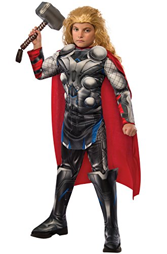 Over The Top Kids Costumes (Rubie's Costume Avengers 2 Age of Ultron Child's Deluxe Thor Costume, Medium)