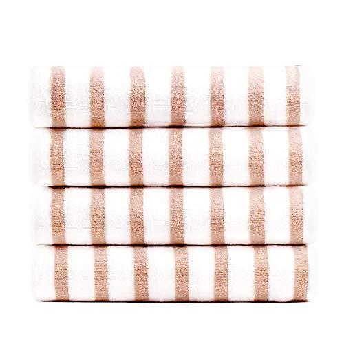 JML Microfiber Bath Towel, Beach Towels (4 Pack, 27