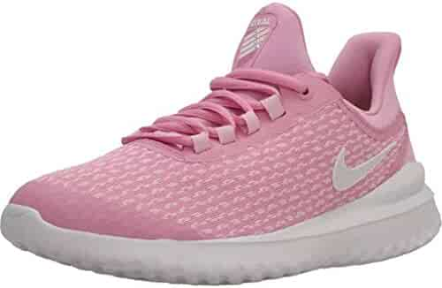 7264f761dc Nike Girl's Renew Rival Running Shoe Pink Rise/White/Pink Foam Size 4 M
