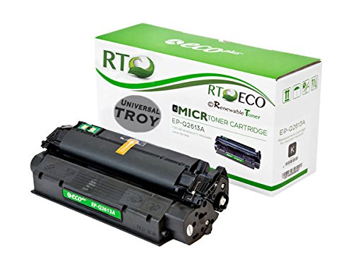 - Renewable Toner TROY 02-81128-001 HP 13A Q2613A MICR Toner Cartridge for Check Printing on TROY HP LaserJet Printers 1300 1300n 1300xi