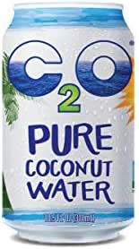 C2O Pure Coconut Water | Plant Based | Non-GMO | No Added Sugar | Essential Electrolytes | 10.5 FL OZ (Pack of 24)