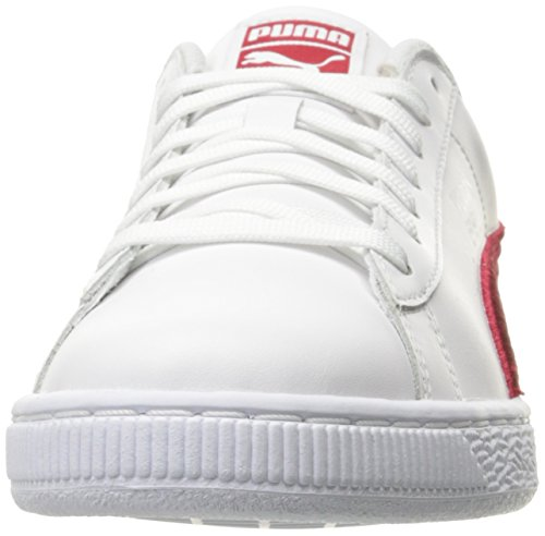 Puma Suede Classic Badge Synthetik Turnschuhe Puma White-barbados