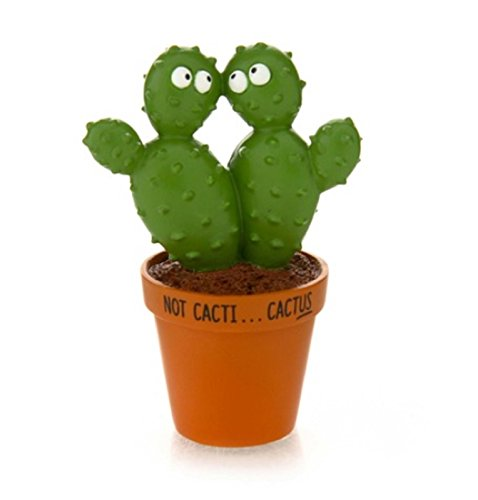 - Our Name Is Mud Cactus Pair South Western Cactus Figurine