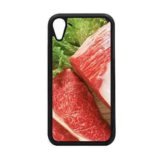 DIYthinker Lambig, Funda para iPhone XR, iPhone y iPhone con Textura de Carne cruda, para Apple