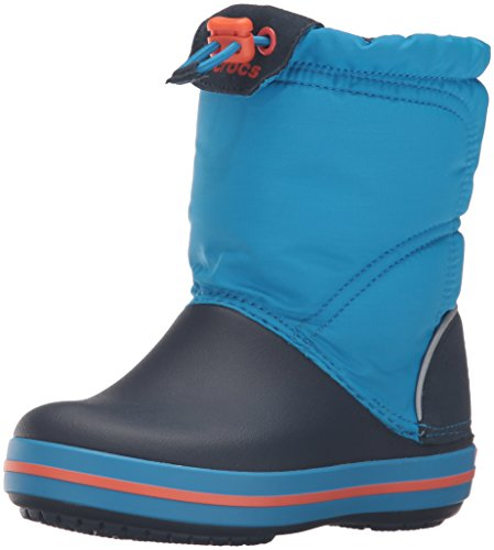 Crocs Crocband LodgePoint Pull-on Boot (Toddler/Little Kid), Ocean/Navy, 9 M US Toddler by Crocs