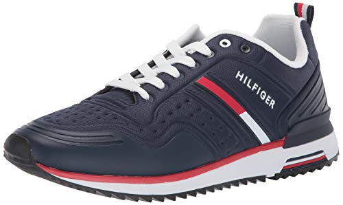 Tommy Hilfiger Men's Vion Sneaker Dark Blue 13 M US