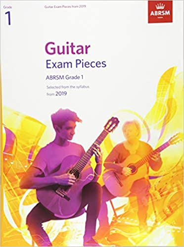 Buy Guitar Exam Pieces from 2019, ABRSM Grade 1: Selected from the
