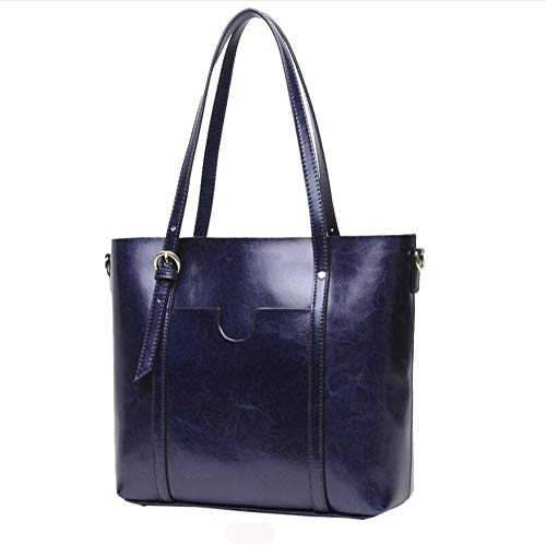 Hundred Bag E Wax Single Cow Shoulder Tote lap Hongge Fashion Vintage Bag Bag Female Big Oil AxwgqH
