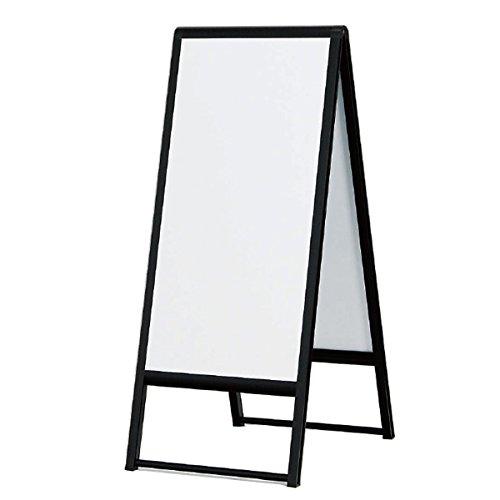240 スタンド看板(300×600) ブラック 屋外使用可能な折りたたみ式A型両面サイン   B07D6MNWJF
