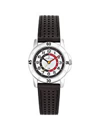 Certus Paris Kids' 647494 Black Calfskin Leather Analog Quartz Watch