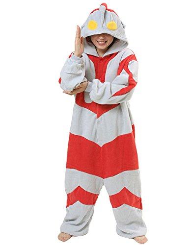 [Japan Sazac Original Kigurumi Pajamas Halloween Costumes Ultraman Cosplay] (Original Ultraman Costume)