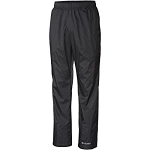 Columbia Men's Glennaker Lake Rain Pant, Black, Large