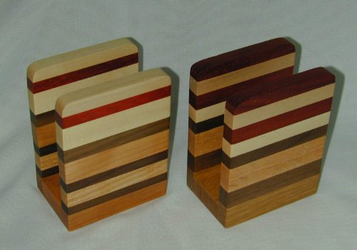 Wisconsinmade Wood Napkin or Letter Holder