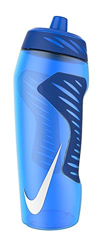 Nike Hyperfuel Water Bottle, 24oz (Royal Blue/White)