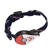 Pokemon Kids' Digital Watch Bluetooth 4.1 Wristband Watch Bracelet Game Accessory for Nintendo Pokemon Go Plus (Red)