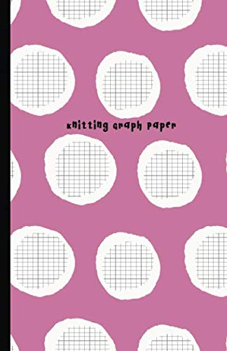 Knitting Graph Paper: 4:5 Ratio Design Blank Knitter's Journal on Your Design Knitting Charts for Creative New Patterns Composition Notebook Two Tone Soft Cover
