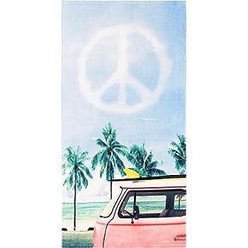 PEACE VAN BEACH TOWEL