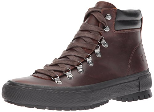 FRYE Men's Ryan Lug Hiker Ankle Bootie, Redwood, 8.5 D US by FRYE (Image #1)