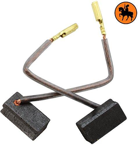 Avec ressort cable et connecteur Remplace les pi/èces dorigine 560454-00 Balais de Charbon Buildalot Specialty ca-03-46174 pour Black /& Decker Coupeuse//Scie KG 65-6,5x8x15mm