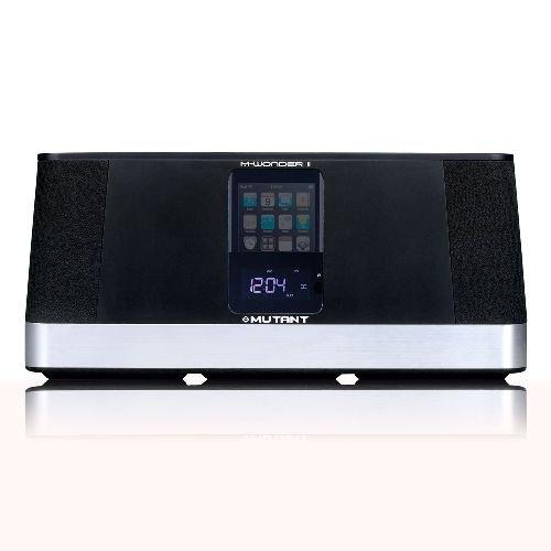 Price comparison product image Mutant MIG-MCS2 M-Wonder II Motorized Speaker for iPhone and iPod