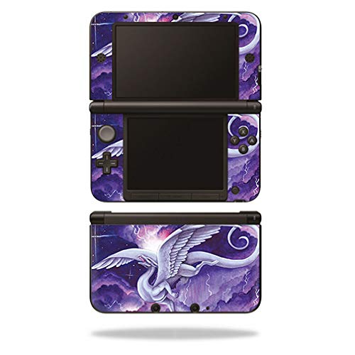 MightySkins Skin Compatible with Nintendo 3DS XL Original (2012-2014) - Storm Dancer | Protective, Durable, and Unique Vinyl wrap Cover | Easy to Apply, Remove, and Change Styles | Made in The USA