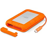 LaCie Rugged Thunderbolt and USB 3.0 1TB Portable Hard Drive LAC9000488 (Certified Refurbished)