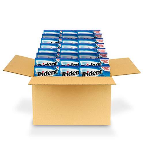 Trident Original Flavor Sugar Free Gum, 24 Packs of 14 Pieces (336 Total Pieces)